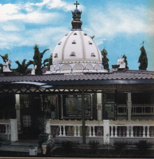Ruang Doa Utama (Tempat Mata Air Muncul)